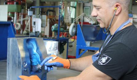 Collaudo stampi lamiera Steel Meccanica